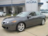 2010 Polished Metal Metallic Acura TSX V6 Sedan #27169481