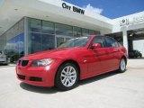 2007 Crimson Red BMW 3 Series 328i Sedan #27169638
