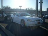 2000 Crystal White Ford Mustang GT Convertible #27169875