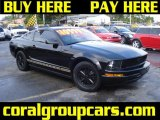 2006 Black Ford Mustang V6 Premium Coupe #27170043