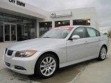 2008 Titanium Silver Metallic BMW 3 Series 335i Sedan #27169646