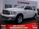 2009 Stone White Dodge Ram 1500 Big Horn Edition Crew Cab #27235197