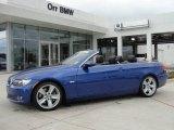 2008 Montego Blue Metallic BMW 3 Series 335i Convertible #27169660