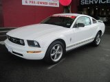2006 Performance White Ford Mustang V6 Premium Coupe #27169667