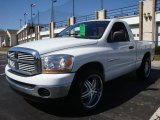 2006 Bright White Dodge Ram 1500 SLT Regular Cab #27169775