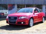 2008 Brilliant Red Audi A4 2.0T quattro Sedan #27169784