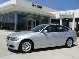 2009 Titanium Silver Metallic BMW 3 Series 328i Sedan #27169578