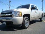 2008 Silver Birch Metallic Chevrolet Silverado 1500 LS Extended Cab #27235234