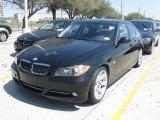 2008 Jet Black BMW 3 Series 335i Sedan #27169710