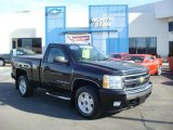 2008 Black Chevrolet Silverado 1500 LT Regular Cab 4x4 #27235242