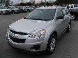 2010 Silver Ice Metallic Chevrolet Equinox LS #27169936