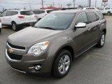 2010 Mocha Steel Metallic Chevrolet Equinox LTZ #27169937