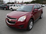 2010 Cardinal Red Metallic Chevrolet Equinox LT #27169938