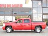 2007 Victory Red Chevrolet Silverado 1500 LTZ Crew Cab 4x4 #27169835