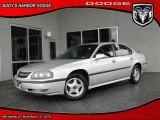 2001 Galaxy Silver Metallic Chevrolet Impala LS #27235035