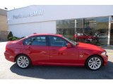 2010 Crimson Red BMW 3 Series 328i xDrive Sedan #27235039