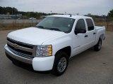 2008 Summit White Chevrolet Silverado 1500 LS Crew Cab #27169951