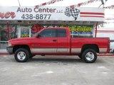 2001 Flame Red Dodge Ram 1500 ST Club Cab 4x4 #2725026