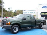 2000 Woodland Green Metallic Ford F250 Super Duty XL Extended Cab #27235128