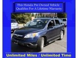2007 Royal Blue Pearl Honda CR-V EX 4WD #27324788