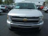 2010 Sheer Silver Metallic Chevrolet Silverado 1500 LT Crew Cab 4x4 #27324792