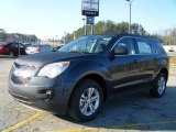 2010 Cyber Gray Metallic Chevrolet Equinox LS #27325014