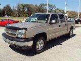 2005 Sandstone Metallic Chevrolet Silverado 1500 LS Crew Cab 4x4 #27325295