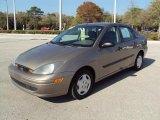 2003 Arizona Beige Metallic Ford Focus LX Sedan #27325298