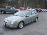 2009 Moss Green Metallic Ford Fusion SEL V6 #27235611