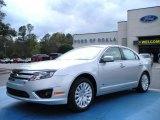2010 Brilliant Silver Metallic Ford Fusion Hybrid #27324824