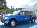 2010 Blue Flame Metallic Ford F150 XLT SuperCrew 4x4 #27324828