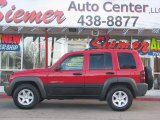 2002 Flame Red Jeep Liberty Sport 4x4 #2724993
