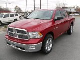 2010 Inferno Red Crystal Pearl Dodge Ram 1500 Big Horn Crew Cab 4x4 #27235769
