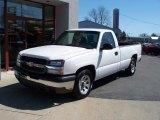 2005 Summit White Chevrolet Silverado 1500 Regular Cab #27235496