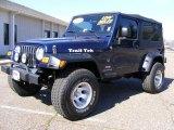 2006 Midnight Blue Pearl Jeep Wrangler Unlimited 4x4 #27235621