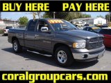 2002 Graphite Metallic Dodge Ram 1500 SLT Quad Cab #27235778
