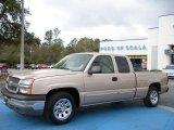 2005 Sandstone Metallic Chevrolet Silverado 1500 LS Extended Cab #27324838