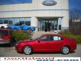 2010 Sangria Red Metallic Ford Fusion SE #27324728