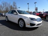 2010 White Platinum Tri-coat Metallic Ford Fusion SE #27324883
