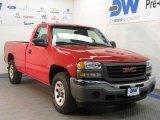 2005 Fire Red GMC Sierra 1500 Work Truck Regular Cab 4x4 #27235548