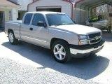 2005 Silver Birch Metallic Chevrolet Silverado 1500 LS Extended Cab #27324921