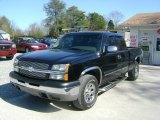2004 Black Chevrolet Silverado 1500 LS Extended Cab 4x4 #27324922