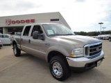 2004 Arizona Beige Metallic Ford F250 Super Duty XLT Crew Cab 4x4 #27325178