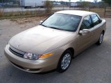 2001 Medium Gold Saturn L Series L200 Sedan #27235698