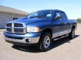 2005 Atlantic Blue Pearl Dodge Ram 1500 SLT Quad Cab 4x4 #27325209