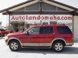 2003 Redfire Metallic Ford Explorer Eddie Bauer 4x4 #27324996