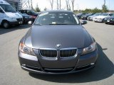 2008 Sparkling Graphite Metallic BMW 3 Series 335i Sedan #27413674