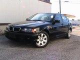 2002 Jet Black BMW 3 Series 325xi Sedan #27413695
