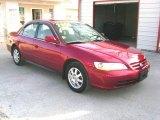 2002 Firepepper Red Pearl Honda Accord SE Sedan #27413885