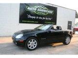 2001 Black Mercedes-Benz SLK 230 Kompressor Roadster #27413932